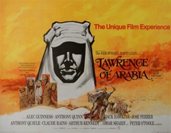 British Quad Lawrence of Arabia Original Movie Poster