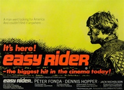 British Quad Easy Rider Original Movie Poster