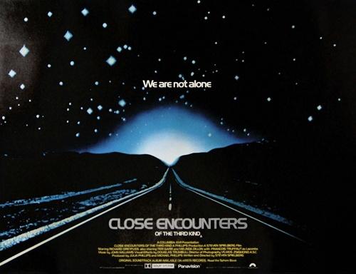 British Quad Close Encounters Original Movie Poster