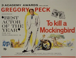 British Quad To Kill A Mockingbird Original Movie Poster