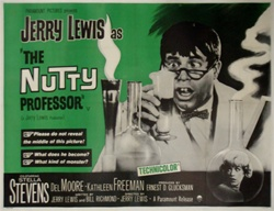 British Quad The Nutty Professor Original Movie Poster