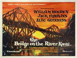The British Quad Bridge On The River Kwai