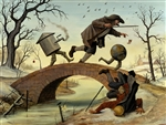 Mike Davis The Bridge Limited Edition Print