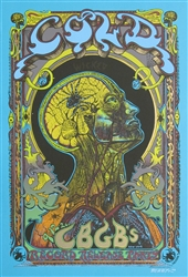Emek Cold Original Rock Concert Poster