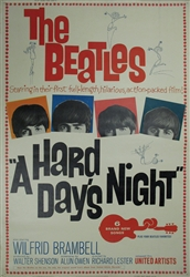 "A Hard Day's Night Original US 40"" x 60""