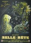 Original French Movie Poster La Belle et la Bete