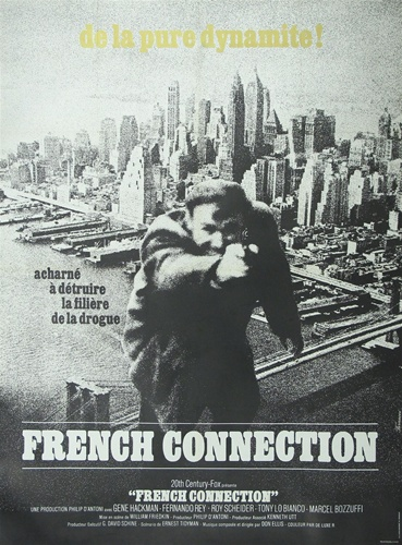 French Movie Poster French Connection