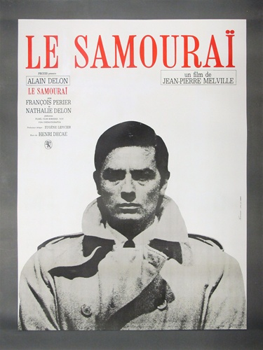 Original French Movie Poster Le Samourai Vintage Movie Poster
