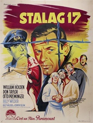 Original French Movie Poster Stalag 17