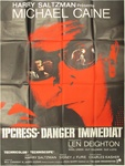 Original French Movie Poster Ipcress File