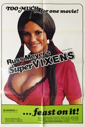 Original French Movie Poster Supervixens