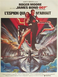 Original French Movie Poster The Spy Who Loved Me