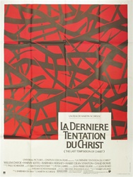 Original French Movie Poster The Last Temptation of Christ
