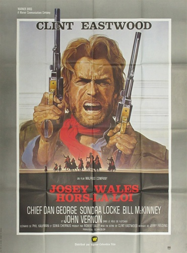 Original French Movie Poster The Outlaw of Josey Wales