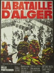 Original French Movie Poster The Battle Of Algiers