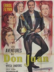 Original French Movie Poster Adventures Of Don Juan