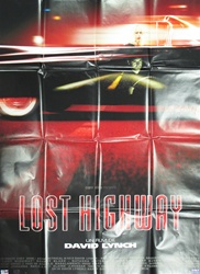 French Movie Poster The Lost Highway