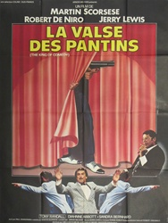 French Movie Poster King Of Comedy