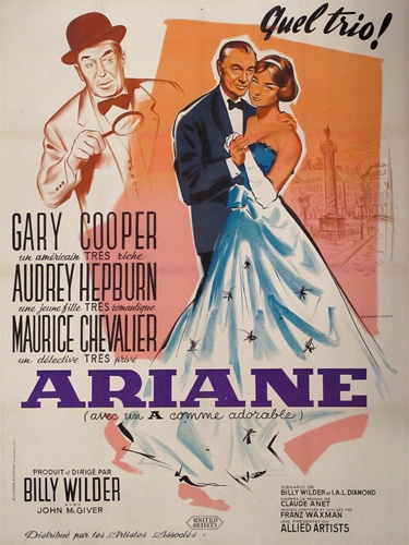 One Sunday afternoon Gary Cooper vintage movie poster