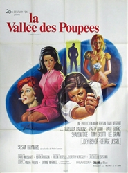 Original French Movie Poster Valley Of The Dolls