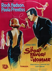French Movie Poster Man's Favorite Sport