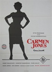 Carmen Jones Original German Movie Poster