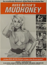 Mudhoney Original German Movie Poster