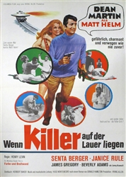 The Ambushers Original German Movie Poster