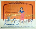 Carmen Jones Original US Half Sheet