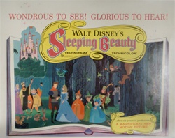 Sleeping Beauty Original US Half Sheet