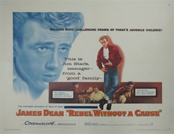 Rebel Without a Cause Original US Half Sheet
