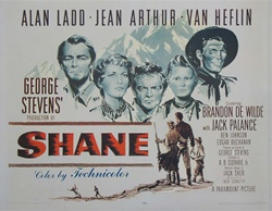 Shane Original US Half Sheet