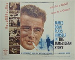 The James Dean Story Original US Half Sheet