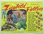 Ziegfeld Follies Original US Half Sheet