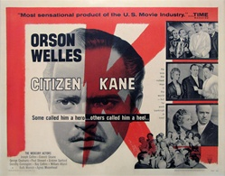 Citizen Kane Original US Half Sheet