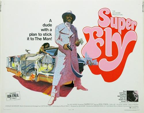9eba991609f Superfly Original US Half Sheet Vintage Movie Poster