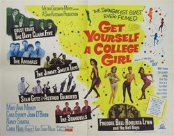 Get Yourself A College Girl Original US Half Sheet