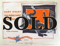 North by Northwest US Half Sheet