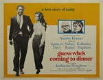 Guess Who's Coming To Dinner Original US Half Sheet