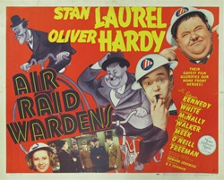 Air Raid Wardens Original US Half Sheet