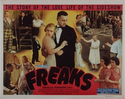 Freaks Original US Half Sheet