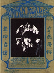Golden Road To Unlimited Devotion Original Concert Handbill