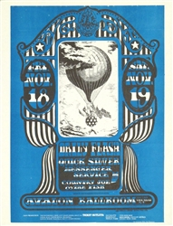 FD 35 Daily Flash And Country Joe And The Fish Original Concert Handbill