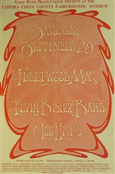 Fleetwood Mac And Elvin Bishop Band Original Concert Handbill