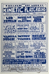 Led Zeppelin Original Concert Handbill