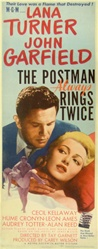 The Postman Always Rings Twice Original US Insert
