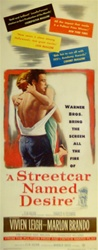 A Streetcar Named Desire Original US Insert