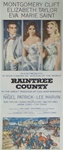 Raintree County Original US Insert