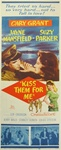 Kiss Them For Me Original US Insert