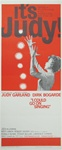 It's Judy I Could Go On Singing Original US Insert